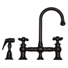 Whitehaus Collection WHKBCR3-9106-ORB Vintage III Faucets Oil Rubbed Bronze
