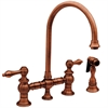 Whitehaus Collection WHKBLV3-9101-ACO Vintage III Faucets Antique Copper