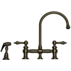 Whitehaus Collection WHKBLV3-9101-BN Vintage III Faucets Brushed Nickel