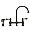 Whitehaus Collection WHKBLV3-9101-ORB Vintage III Faucets Oil Rubbed Bronze