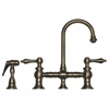 Whitehaus Collection WHKBLV3-9106-BN Vintage III Faucets Brushed Nickel