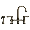 Whitehaus Collection WHKBLV3-9106-P Vintage III Faucets Pewter