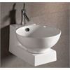 Whitehaus Collection WHKN1051-1060 Wall Mount Sinks White