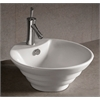 Whitehaus Collection WHKN1054 Above Mount Sinks White