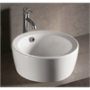 Whitehaus Collection WHKN1055 Above Mount Sinks White