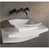 Whitehaus Collection WHKN1078-1116 Wall Mount Sinks White