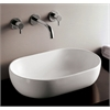Whitehaus Collection WHKN1080 Above Mount Sinks White