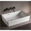 Whitehaus Collection WHKN1081 Above Mount Sinks White