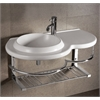 Whitehaus Collection WHKN1125 Wall Mount Sinks White