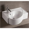 Whitehaus Collection WHKN1129 Wall Mount Sinks White