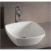 Whitehaus Collection WHKN4019 Above Mount/Drop-In Sinks White