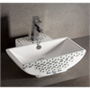 Whitehaus Collection WHKN4047-03 Wall Mount Sinks White