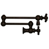 Whitehaus Collection WHKPFCR3-9550-MB Vintage III Faucets Mahogany Bronze
