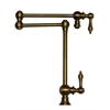Whitehaus Collection WHKPFDLV3-9555-AB Vintage III Faucets Antique Brass