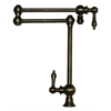 Whitehaus Collection WHKPFDLV3-9555-P Vintage III Faucets Pewter