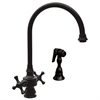 Whitehaus Collection WHKSDCR3-8101-ORB Vintage III Faucets Oil Rubbed Bronze
