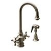 Whitehaus Collection WHKSDCR3-8104-BN Vintage III Faucets Brushed Nickel