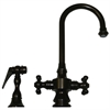 Whitehaus Collection WHKSDCR3-8104-ORB Vintage III Faucets Oil Rubbed Bronze