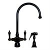 Whitehaus Collection WHKSDLV3-8101-ORB Vintage III Faucets Oil Rubbed Bronze