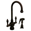 Whitehaus Collection WHKSDLV3-8104-MB Vintage III Faucets Mahogany Bronze