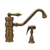Whitehaus Collection WHKTSL3-2200-AB Vintage III Faucets Antique Brass