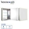Whitehaus Collection WHLUN7055-IR Medicine Cabinet Medicinehaus Aluminum
