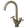 Whitehaus Collection WHLX79572-BN Luxe Faucets Brushed Nickel