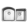 Whitehaus Collection WHNC3220 Noah's Collection Sinks Brushed Stainless Steel