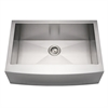 Whitehaus Collection WHNCMAP3021 Noah's Collection Sinks Brushed Stainless Steel