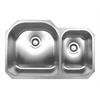 Whitehaus Collection WHNDBU3120 Noah's Collection Sinks Brushed Stainless Steel