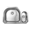 Whitehaus Collection WHNDBU3121 Noah's Collection Sinks Brushed Stainless Steel