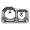 Whitehaus Collection WHNDBU3220 Noah's Collection Sinks Brushed Stainless Steel