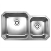 Whitehaus Collection WHNDBU3320 Noah's Collection Sinks Brushed Stainless Steel