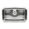Whitehaus Collection WHNU2917 Noah's Collection Sinks Brushed Stainless Steel