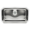 Whitehaus Collection WHNU2918REC Noah's Collection Sinks Brushed Stainless Steel