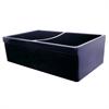Whitehaus Collection WHQDB532-BLUE Quatro Alcove Sinks Sapphire Blue