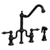 Whitehaus Collection WHTTSLV3-9771SPR-ORB Twisthaus Faucets Oil Rubbed Bronze