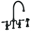Whitehaus Collection WHTTSLV3-9773SPR-ORB Twisthaus Faucets Oil Rubbed Bronze