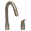 Whitehaus Collection WHUS492-BN Metrohaus Faucets Brushed Nickel