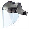 "Fibre-Metal by Honeywell High Performance Face Shield Assembly, 4"" Crown Ratchet, Noryl, Gray"
