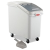 Rubbermaid Commercial ProSave Mobile Ingredient Bin, 26.18gal, 15 1/2w x 29 1/2d x 28h, White