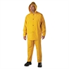 Rainsuit, PVC/Polyester, Yellow, 3X-Large