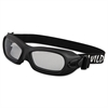 KIMBERLY-CLARK PROFESSIONAL JACKSON SAFETY V80 WildCat Safety Goggles, Black Frame, Clear Lens