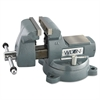 "Wilton Vise, Steel, Mechanics, 5 3/4"" Jaw Opening, 6"" Jaw Width, 69.35 Pounds"