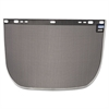 "JACKSON SAFETY F60 Face Shield Window, 15 1/2""x9"", Steel, Black, Aluminum Bound"