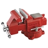 "Wilton Vise, Cast Iron, Utility, 5"" Jaw Opening, 5 1/2"" Jaw Width, 29.2 Pounds"