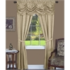 Achim Panache 5 Piece Window Curtain Set - 55x84 - Tan