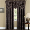 Sutton Window Curtain Panel 52x63 - Brown