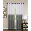 Achim Essence Window Curtain Panel - 52x84 - Charcoal