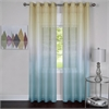 Achim Rainbow - Single Grommet Window Curtain Panel - 52x63 Blue
